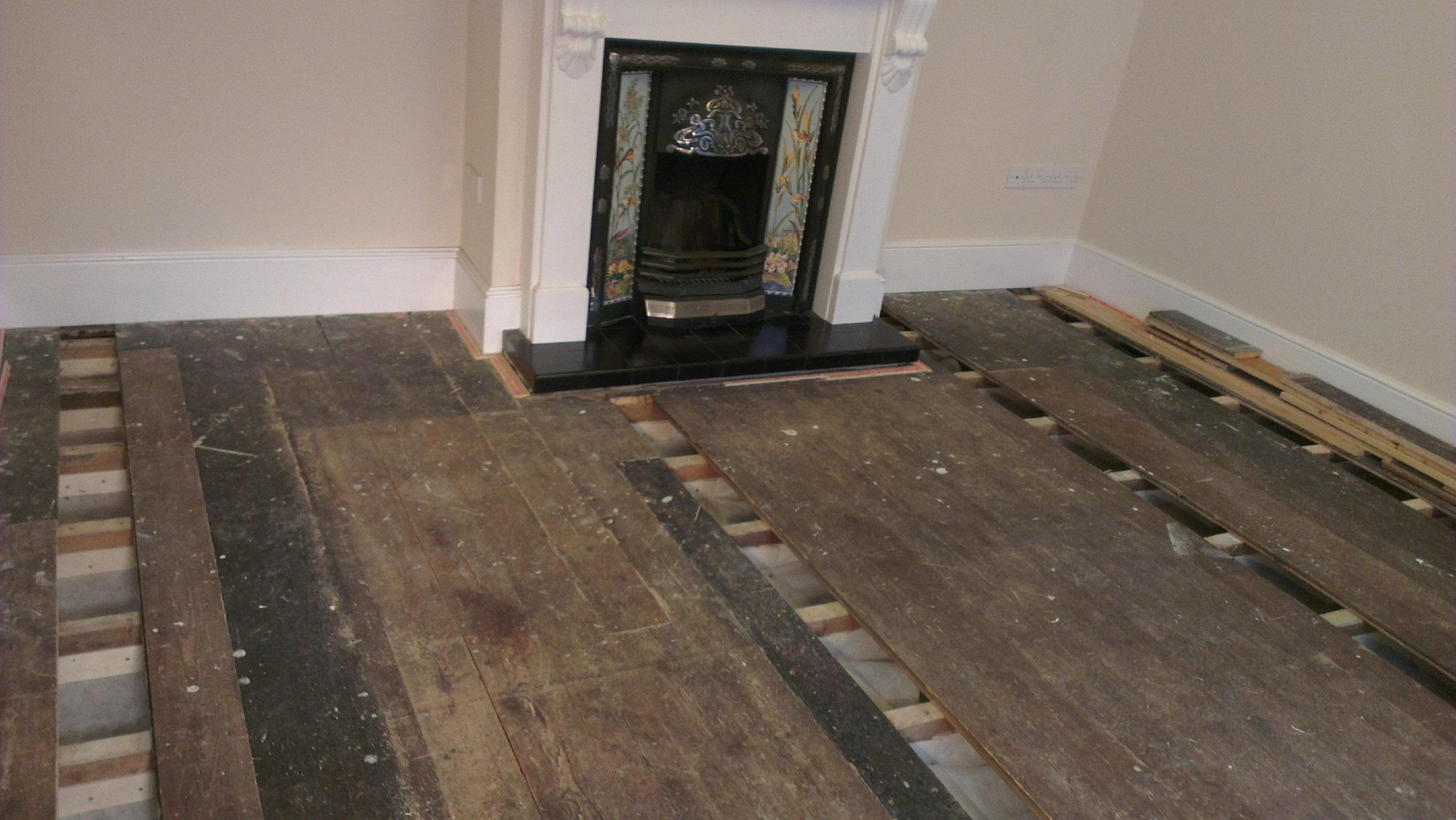 Underfloor Insulation Before install